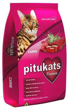 Ração Premium Pitukats Carne