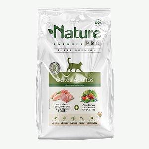 Ração Nature Pró Super Premium Gato