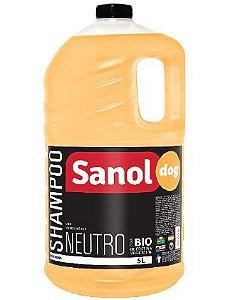 Shampoo Sanol Dog Profissional Neutro - 5L