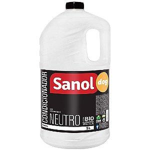 Condicionador Sanol Dog Profissional Neutro - 5L