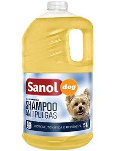 Shampoo Antipulgas Sanol Dog - 5L