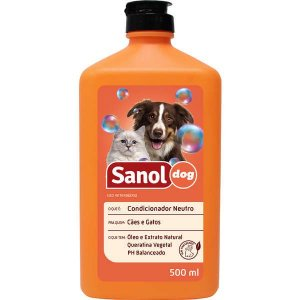 Condicionador Sanol Dog Neutro - 500 mL