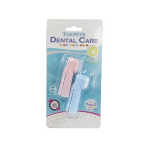 Escova Dental Dedeira The Pets Cães e Gatos Sortida Blister C/2