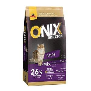 Ração Onix Cat Mix 25kg