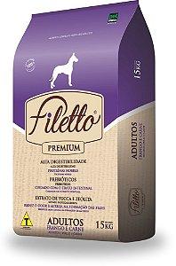 Ração Premium Filetto Adulto Raças Grandes