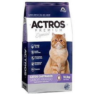 Ração Actros Premium Especial Gato Castrado Frango