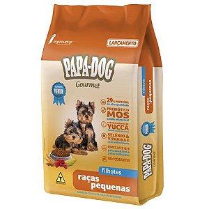 Ração Papa Dog Gourmet Raças Pequenas Filhotes Raças Pequenas