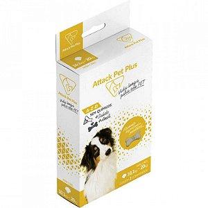 Attack Pet Plus Caes 10 Ate 20Kg Para Cachorros E Gatos suplemento ( Antipulgas E Carrapatos)