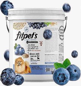 Ração Super Premium Fitpets Sabor Blueberry Para Cães