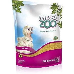 Papa Megazoo para Filhotes de Aves - 500g
