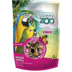 Ração Megazoo Mix Papagaio Tropical 700gr