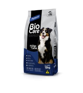 Ração BioCare Essencial Premium Todas as Raças 15kg