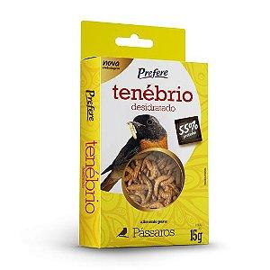 Prefere Tenébrio Desidratado - Pássaro 15g