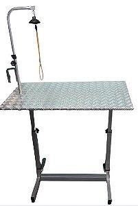 Mesa de Tosa C/ Girafa, Suporte e Tampo de Alumínio