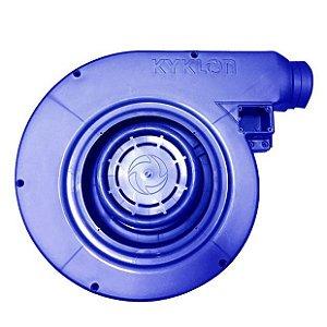 Carcaça Completa Secador Maestro Kyklon Azul