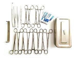 Kit completo p/ castração c/ 19 itens - Uau+