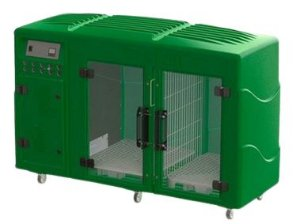 Máquina de Secar Pet Profissional Kyklon Verde