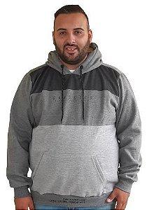 Casaco Masculino Plus Size Com Capuz  Gangster