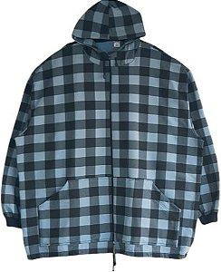 Blusa Moleton G8 Xadrez Masculino Plus Zize Capuz