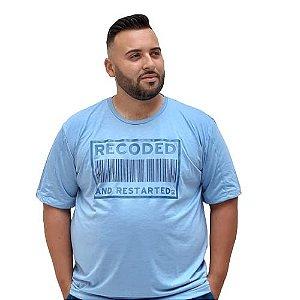 Camiseta Plus Size Masculina  Bigmen Recoded