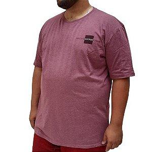 Camiseta Plus Size Masculina  Bigmen Ver Noug
