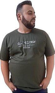 Camiseta Masculina Plus Size Gangster