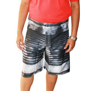 Bermuda D'água Plus Size Masculina Air Waves