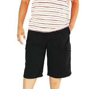 Bermuda Masculina Plus Size Cós Elástico