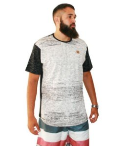 Camiseta Masculina Plus Size Gangster Premium Long Line