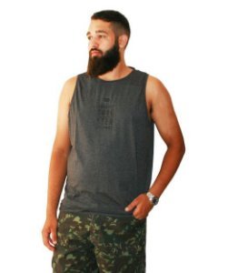 Regata Plus Size Masculina Gangster Evolution