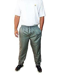 Calça Cós Elástico Plus Size Masculina Volver