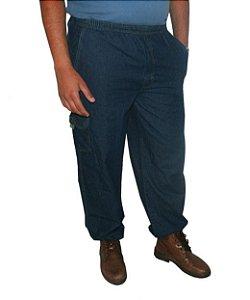 Calça Plus Size Masculina Elástico Dazz Ling Jeans