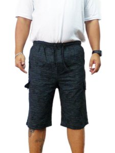Bermuda Masculina Plus Size Cós Elástico 02