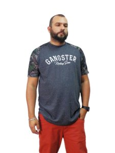 Camiseta Plus Size Masculina Military Series Gangster