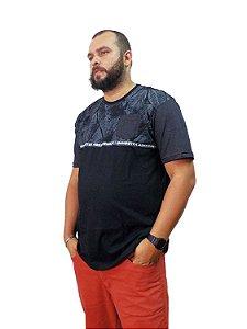 Camiseta Plus Size Masculina Premium Gangster