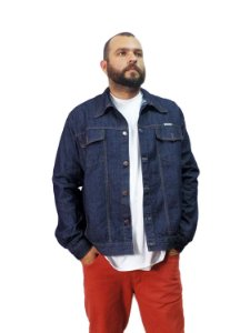 Jaqueta Jeans Plus Size Masculina Oncross Co