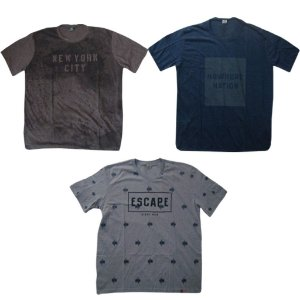 Kit 3 Camisas Sortidas Plus Size Masculina Multicolorido