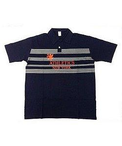 Kit 3 Camisas Polo NY Plus Size Masculina Bigmen
