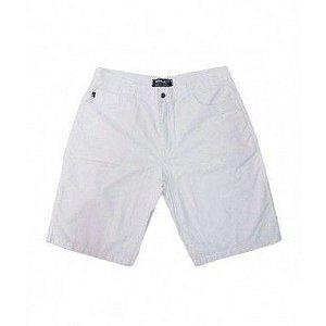 Bermuda Masculina Plus Size Colors Branca