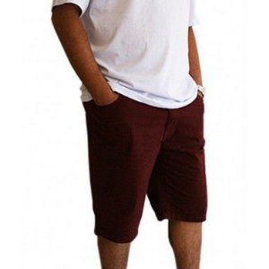 Bermuda Masculina Plus Size Colors Vinho
