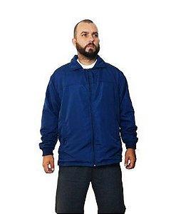 Jaqueta Corta Vento Plus Size Masculina Bigmen Azul