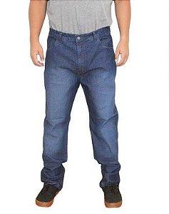 Calça Plus Size Masculina Jeans Estonada  BigMen