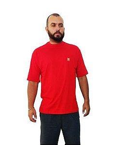 Camiseta Plus Size Masculina Bigmen Vermelha