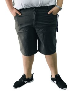 Bermuda Masculina Plus Size Colors Cinza