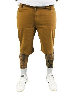 Bermuda Masculina Plus Size Colors Bege