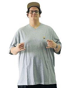 Camiseta Modern BigMen Plus Size Cinza