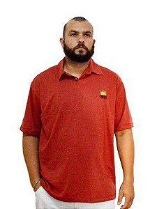 Camisa Polo Plus Size Masculina Bigmen Vermelha