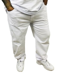 Calça Masculina Plus Size Colors Branca