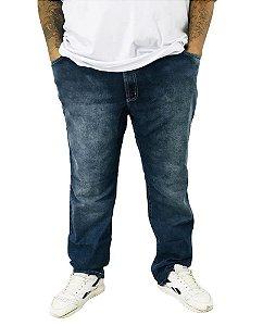 Calça Plus Size Bigmen Masculina Jeans Estonada