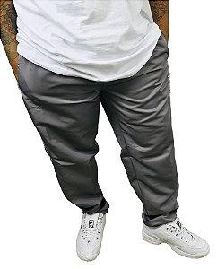 Calça Plus Size Masculina Volver Tactel Cinza